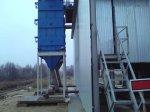 аспирация при разгрузке хопперов, модернизация склада цемента
