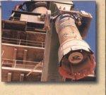 беспыльная загрузка извести, цемента, минпорошка телескопическими загрузчиками